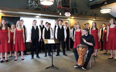New Prague Emotion Choir Performs