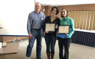 Rotary Inducts New Members