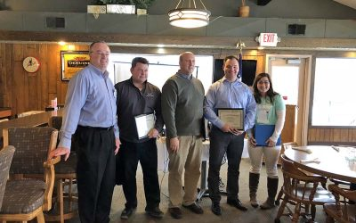 New Prague Rotary Inducts Four New Members