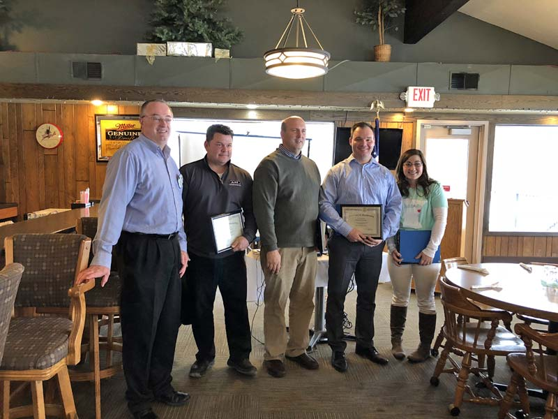 New Prague Rotary Inducts New Members